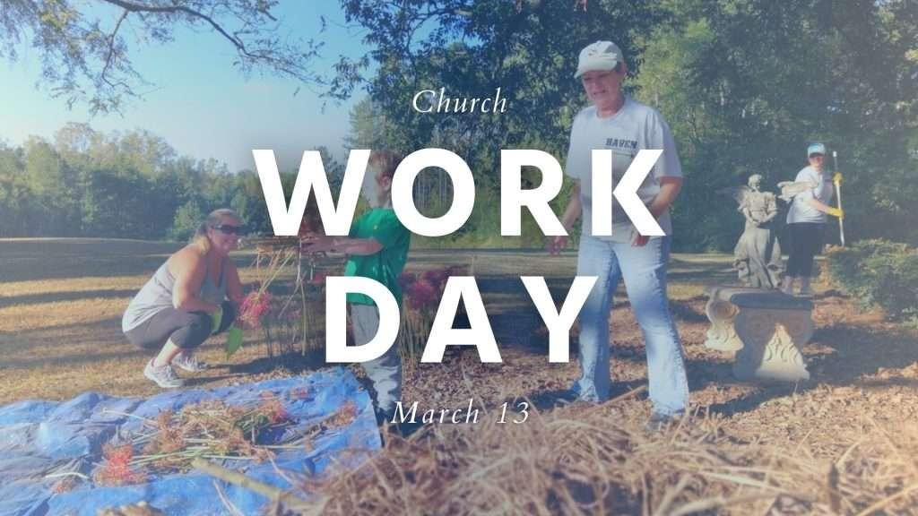 Church Work Day Haven Fellowship Church