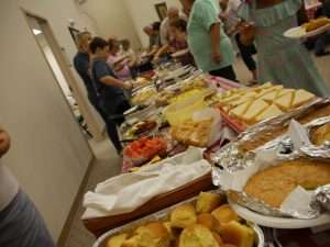 Church Buffet Line Haven Fellowship Church Conyers