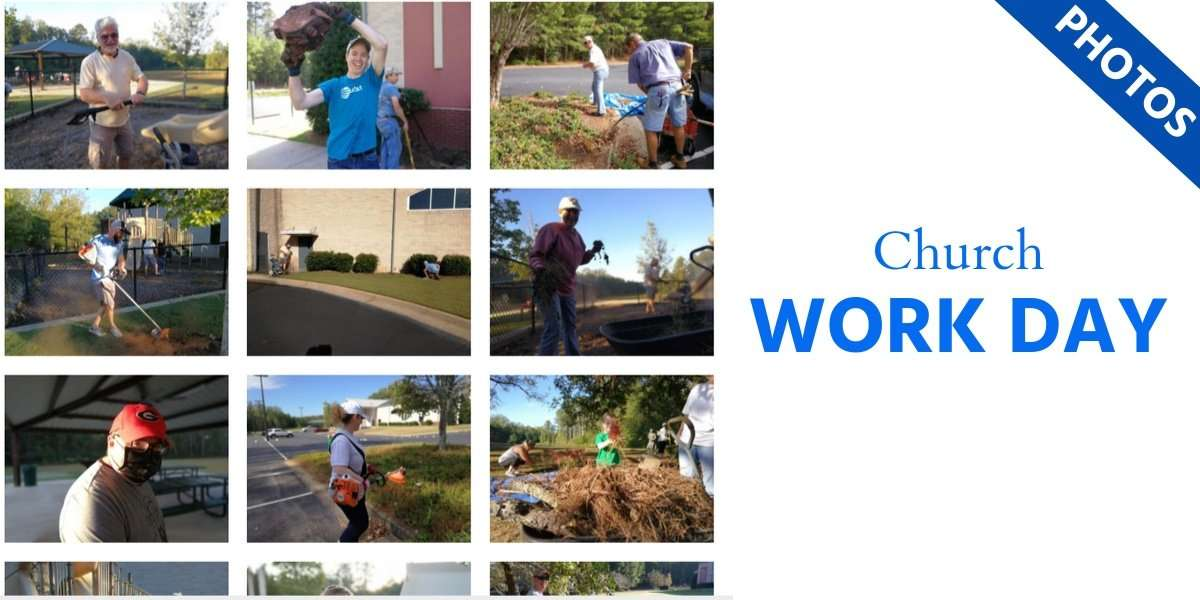Church Work Day Photo Gallery Featured Image