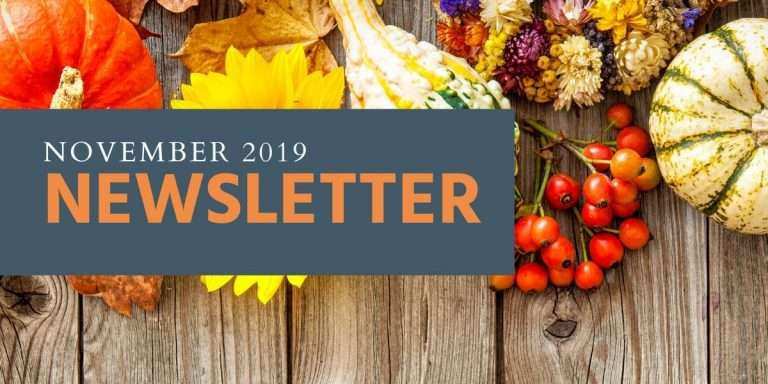 November Newsletter, Haven Fellowship Church, Conyers GA
