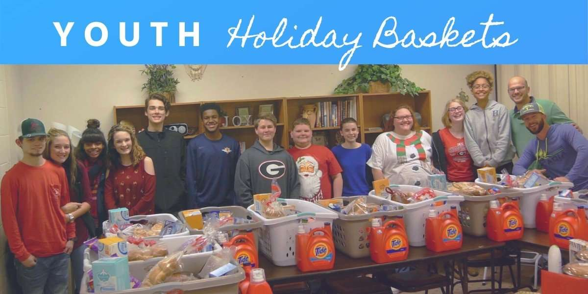 Youth Holiday Baskets Conyers Ga