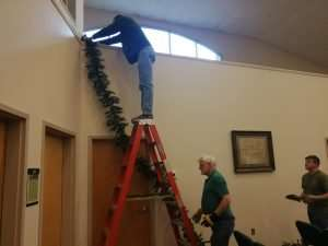 Christmas Hanging of the Green 2019