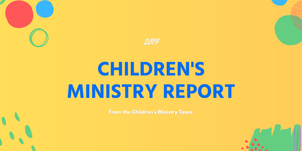 Children's Ministry Report