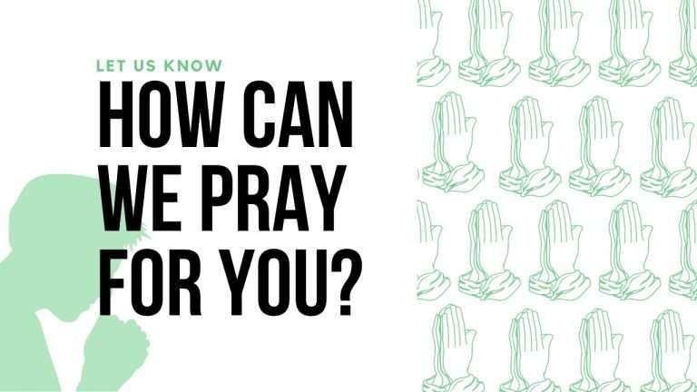 Church Pray for Me