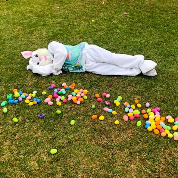 Easter Bunny at Haven Fellowship Church