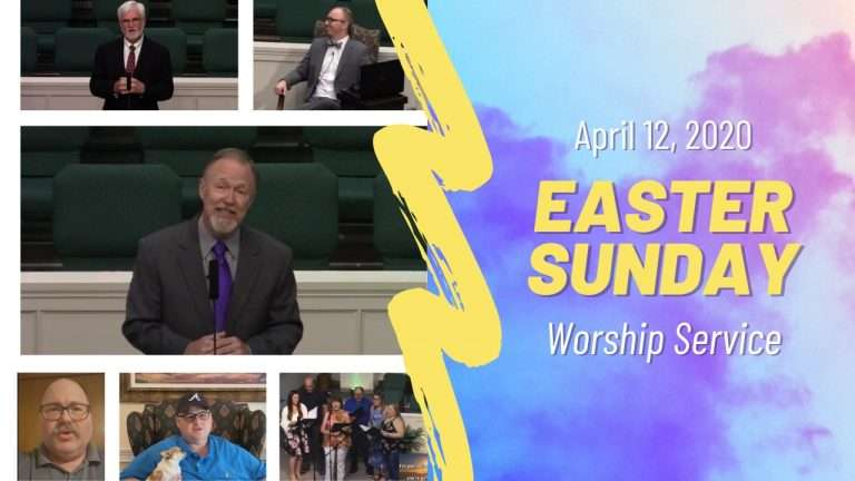 Easter Sunday Worship Service