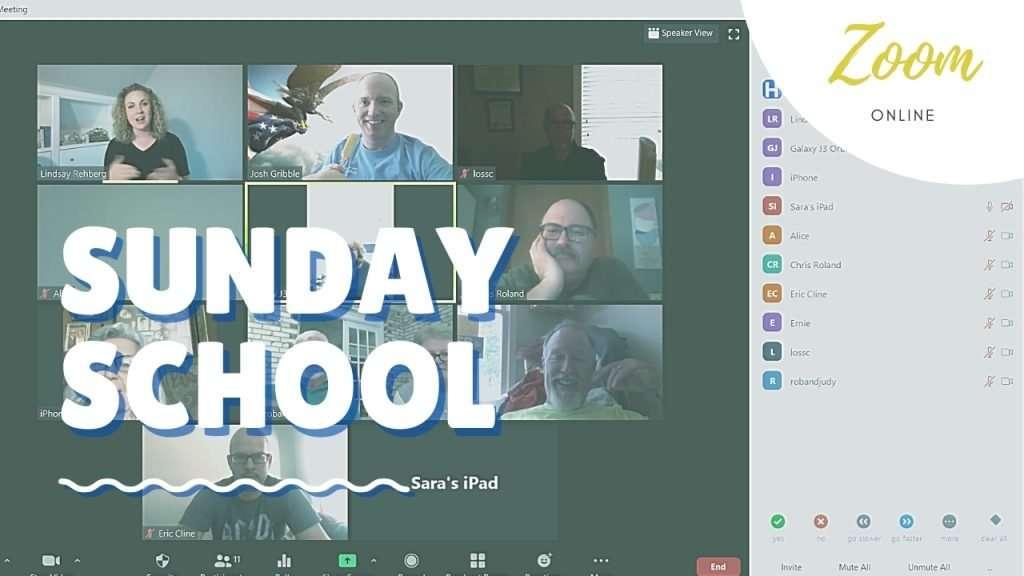 Zoom Sunday School
