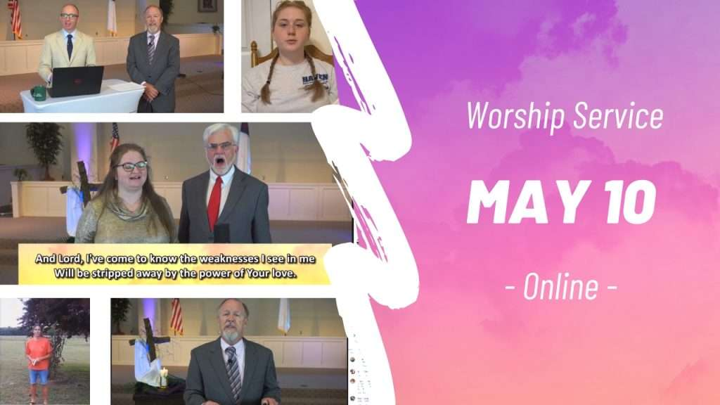 Online Worship Service May 10