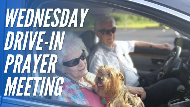Wednesday Drive-in Prayer Meeting (2)