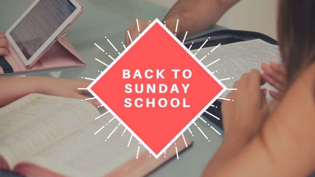 Back to Sunday School