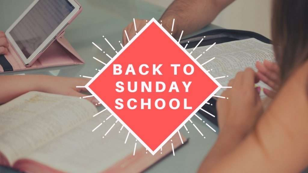 Back to Sunday School (2)