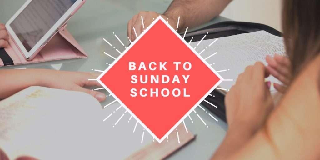 Sunday School Reopening News