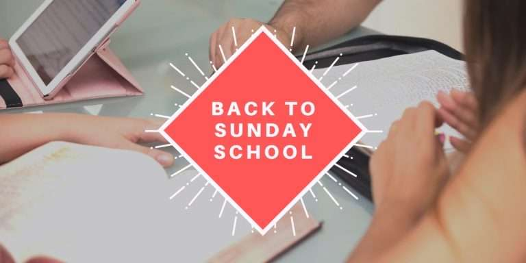 Sunday School Reopening News