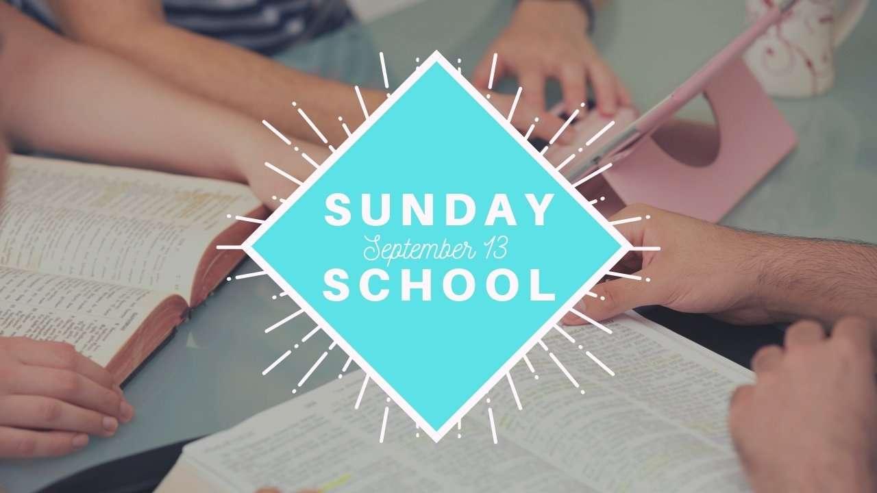 Back to Sunday School Haven Fellowship Church