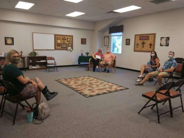 Adult Sunday School Class, Haven Fellowship Church, Conyers, GA