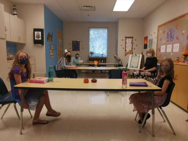 Kids Sunday School Class, Haven Fellowship Church, Conyers, GA