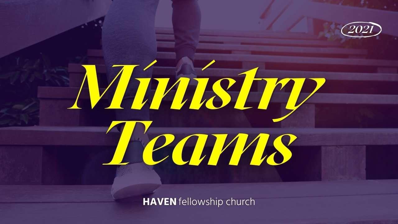 Ministry Teams 2021