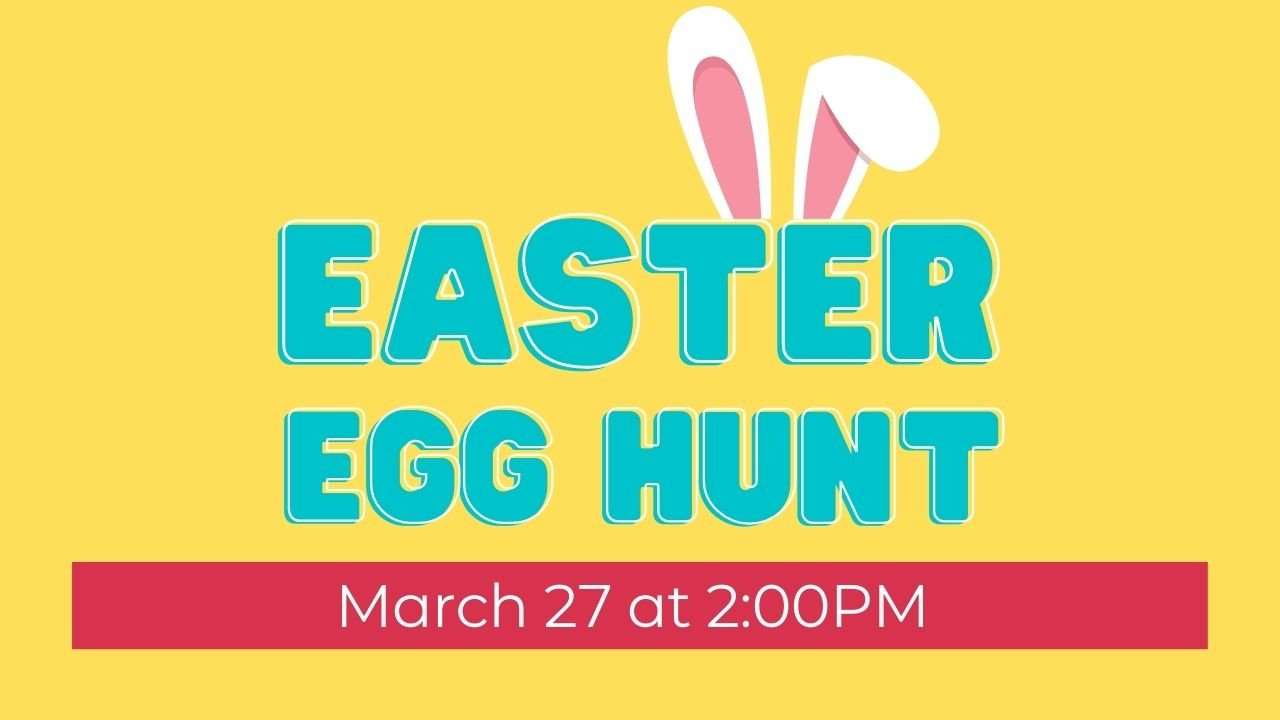 Free church Easter Egg hunt for kids in Conyers GA
