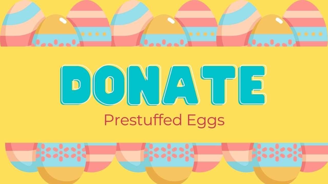 Easter Egg Hunt Donate Eggs