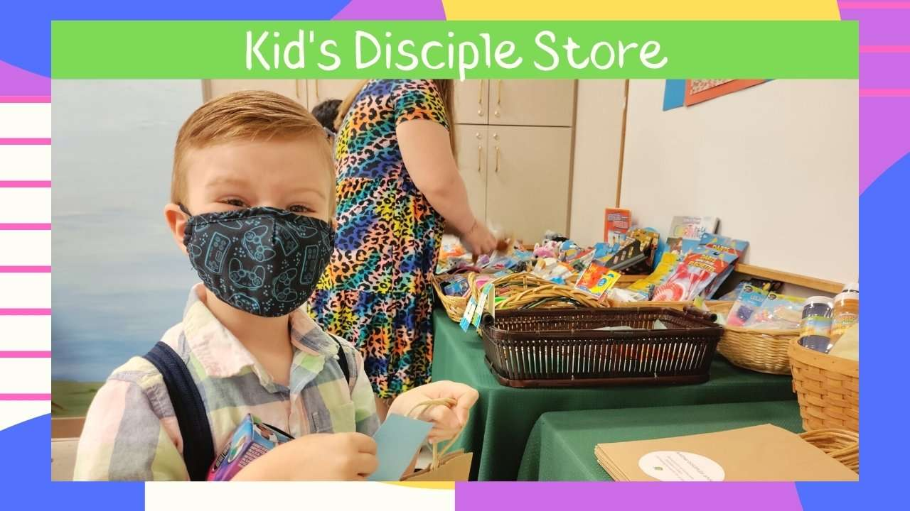 Haven Fellowship Church Sunday School Kid's Disciple Store