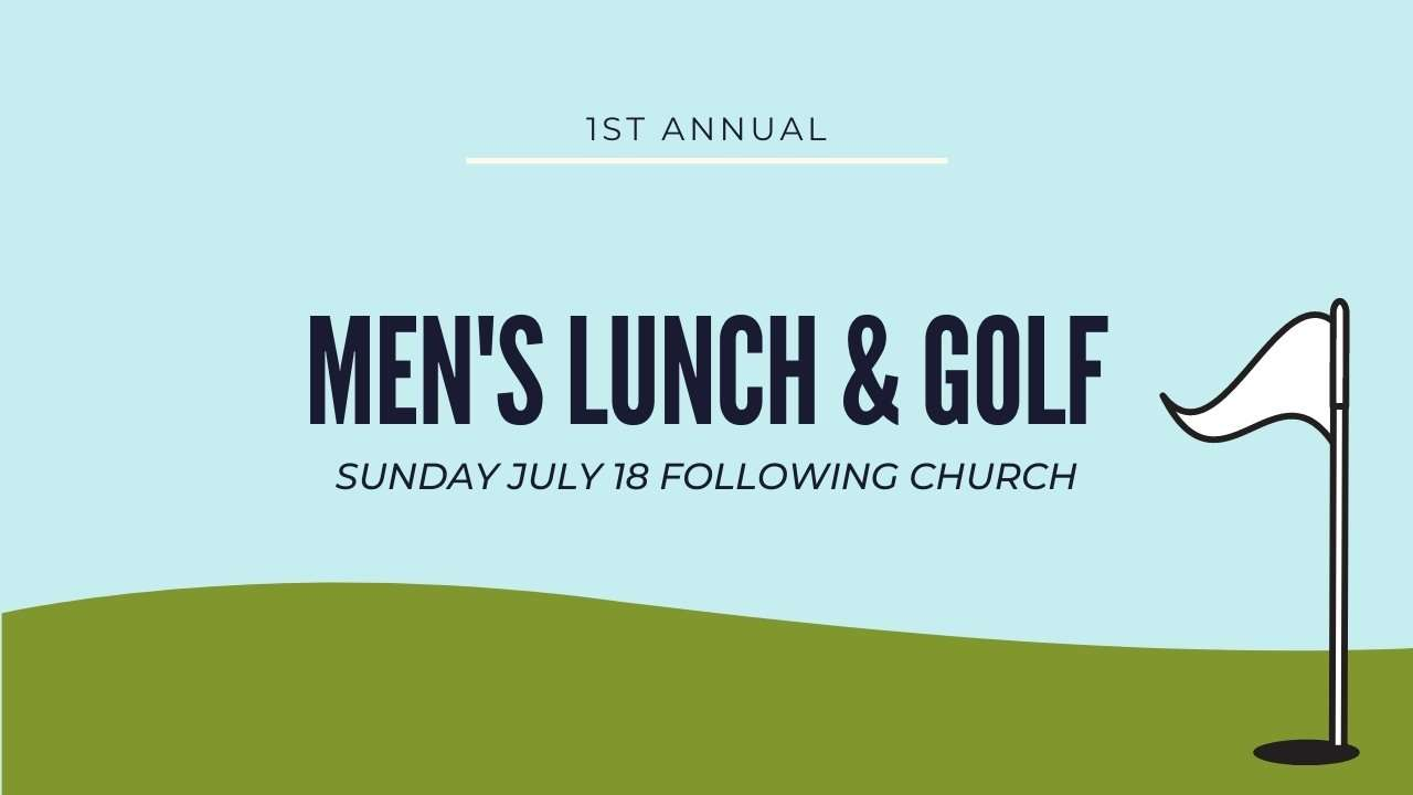Men's Lunch and Golf Conyers GA