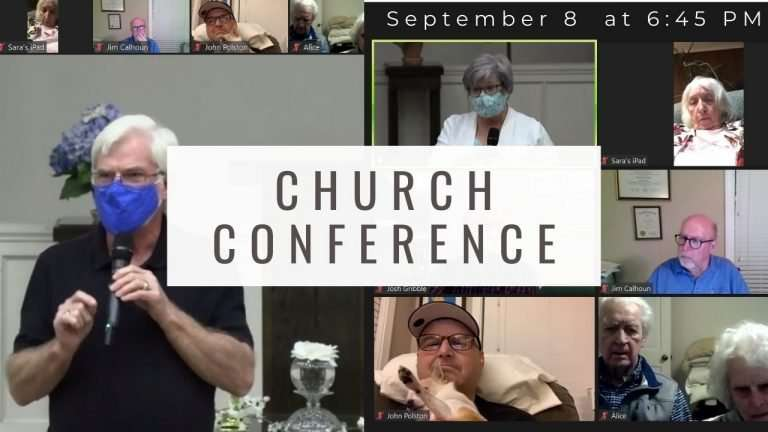 Church Conference September 2021
