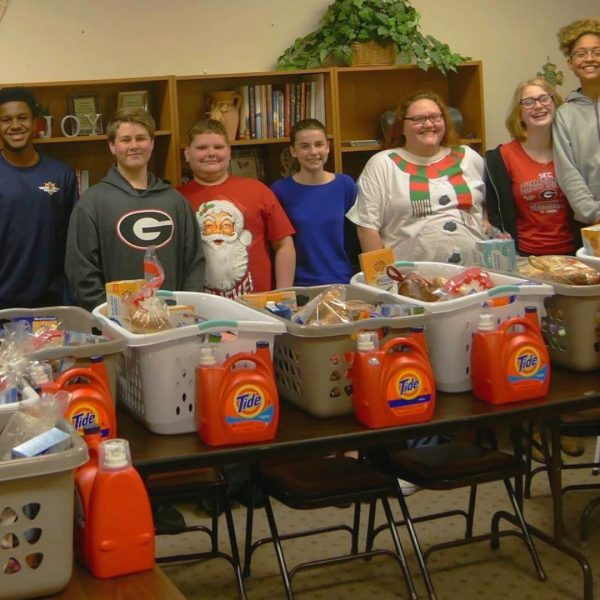 Youth Holiday Baskets Haven Fellowship Church, Conyers GA